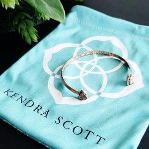 Kendra Scott Cuff Bracelet Hanna Rose Gold Drusy
